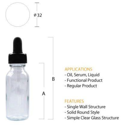 G04 Dropper Bottle (Clear)