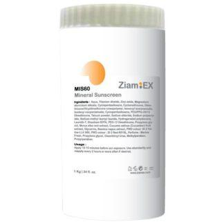 MIS60 Mineral Sunscreen SPF60