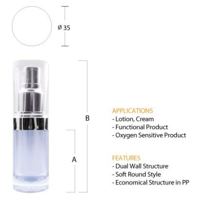 N02 Luxurious Pump Bottle