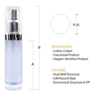 N03 Luxurious Pump Bottle