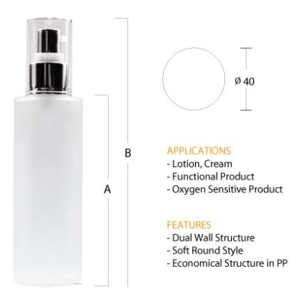P03 Glass Toner Bottle